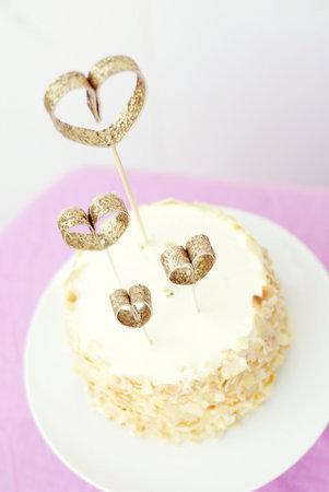 Adorno para el pastel de Boda glitter