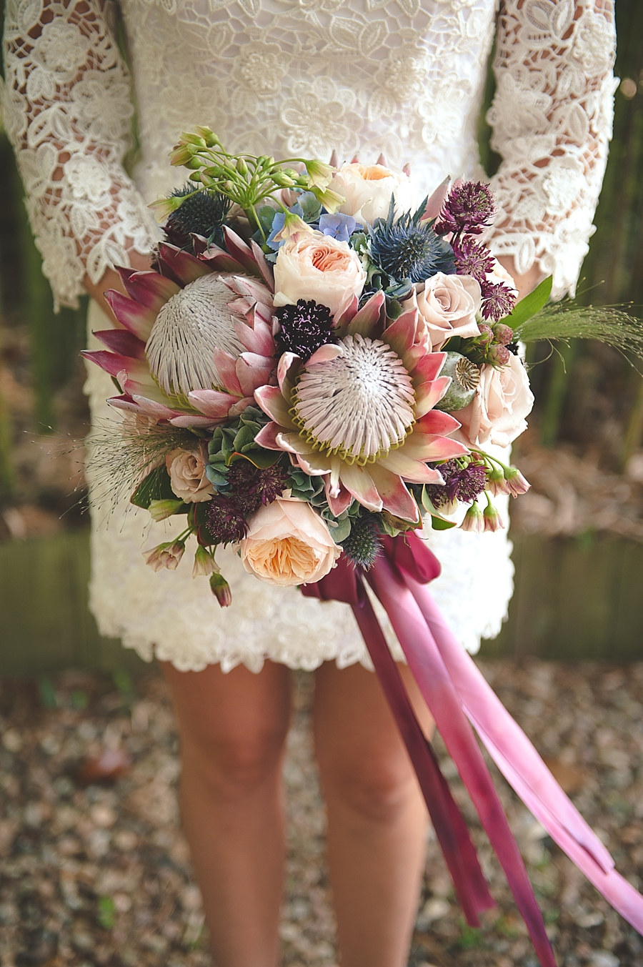Bouquet de Novia combinación de colores