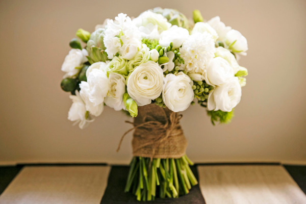 Bouquet de Novia Blanco